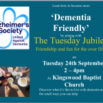 Dementia Friends Training – 24th September
