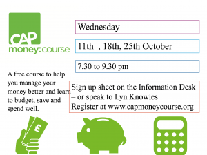 8250fe030e0 CAP Money Course – 11th to 25th October – Kingswood Baptist Church