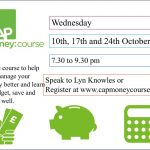 CAP Money Course – 10th to 24th October