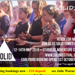 SOLID – 12th-14th July 2019